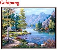 Pintura A óleo Por Números Pintura Na Sala de estar da Lona Arte Da Parede Pintura Digital Diy Pintura À Mão Módulo Imagem Cenário