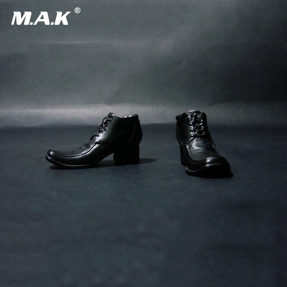 a0701dcec7 1 6 escala Hacker mundo Noe zapatos de cuero negro para 12 pulgadas figuras  masculinas órganos Accesorios - a.spelacasino.me