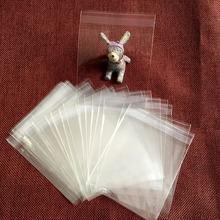 100pcs/lot, clear plastic bags samll cookie packaging  cupcake wrapper free shipping