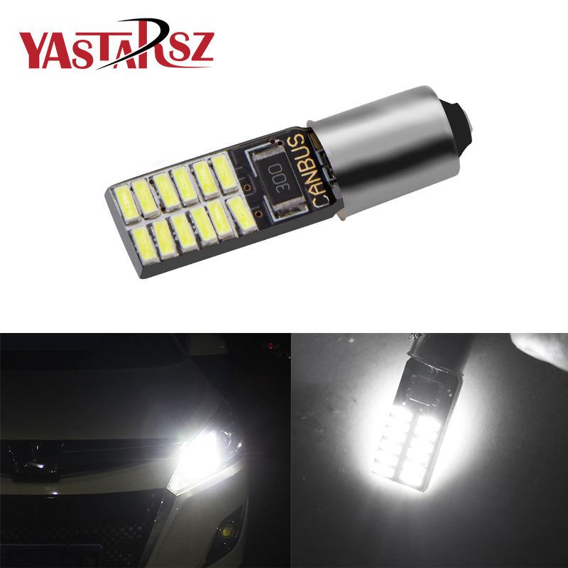 1 PCS 24SMD T10 w5w <font><b>H21W</b></font> <font><b>bay9s</b></font> bax9s H6W ba9s <font><b>led</b></font> car 4014 T4W Clearance Light Interior Parking Tail Lamp Rear fog Bulb auto image