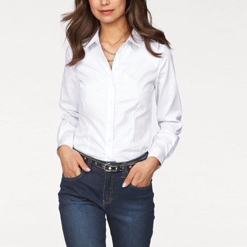 White Formal Shirts For Girls