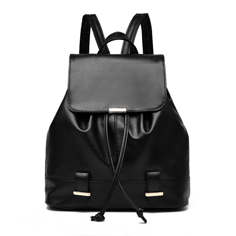 New Mini Leather Backpack for Girls Small Cute Backpacks for Teenage Girls Brand Elegant America Backpacks