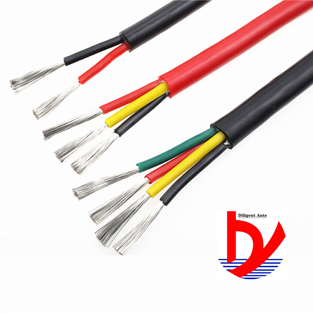 2-<font><b>core</b></font> 3-<font><b>core</b></font> <font><b>4</b></font>-<font><b>core</b></font> heat-resistant high-temperature cable Multi-<font><b>core</b></font> soft <font><b>silicone</b></font> <font><b>wire</b></font> 22AWG 20AWG 18AWG 17AWG 15AWG 13AWG image