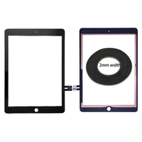 For ipad 9.7 2018 A1893 A1954 Touch Screen glass Digitizer panel For iPad 6 6th Gen A1893 2018 Version Touch screen & 2mm tape