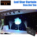 3M*3M LED Star Curtain With Controller New&Hot Super Price RGB/RGBW Color Mixing,LED Wedding Backdrops LED DJ Backdorps 90V-240V
