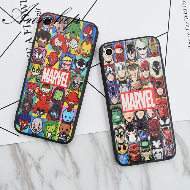 carcasa iphone 7 marvel