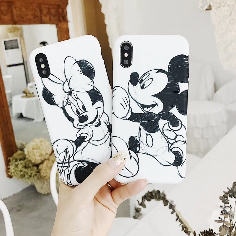 Funny Minnie Mickey Donald Daisy Duck Soft TPU Case for