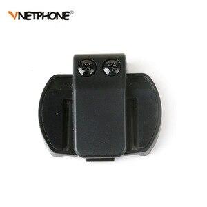 Image 4 - Vnetphone 3.5mm Microphone Speaker Headset And Helmet Intercom Clip for V4 V6 Motorcycle Bluetooth Interphone