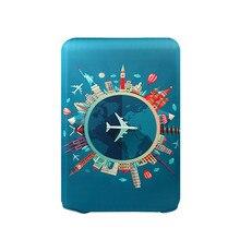 Толстый защитный чехол для багажа для путешествий, чехол для багажника, подходит для чемодана 18 ''-32'', Модный повседневный чемодан