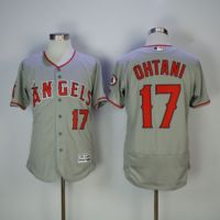 MLB Men S Los Angeles Angels Shohei Ohtani Baseball Gray Flex Base Player Jersey