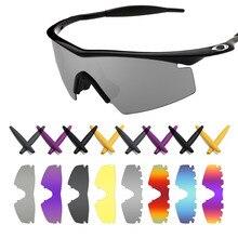 f0acb3769e Mryok Replacement Lenses and Black Ear Socks Earsocks akley M Frame Strike  Sunglasses - Multiple Options
