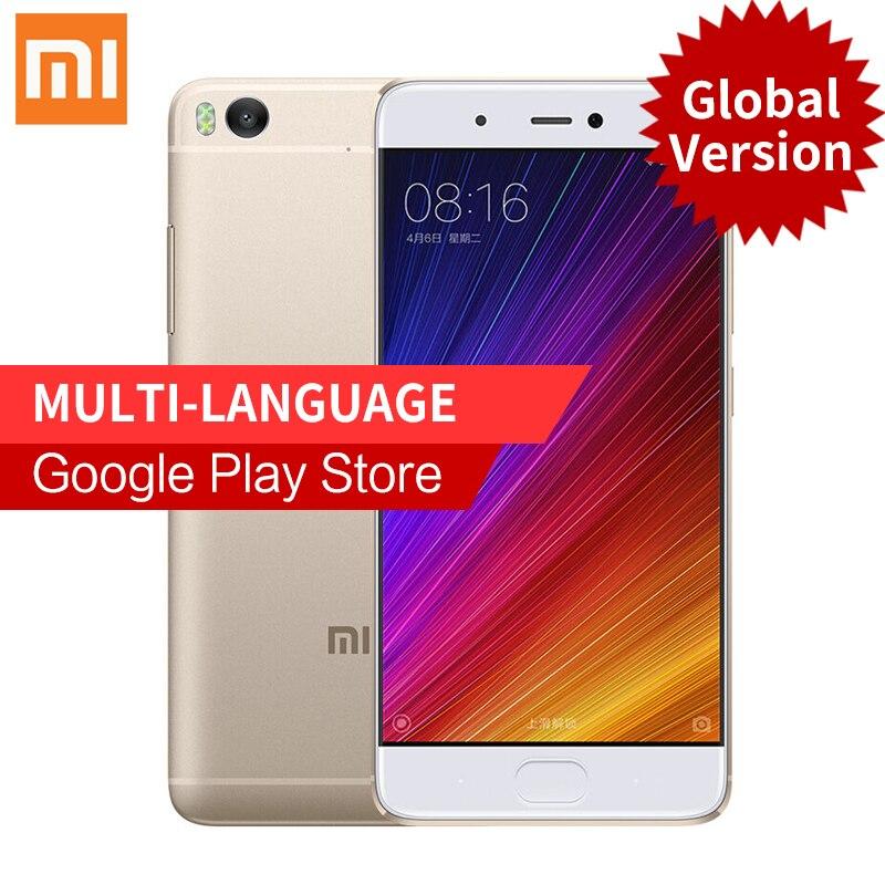 Xiaomi Mi5s Snapdragon 821 MIUI8 3GB RAM 64GB ROM cellphone 5 15 Mi 5s Fingerprint ID