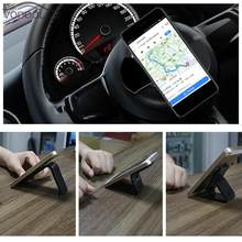 Multi-purpose Mobile Phone Holder Sticker Socket Nano Rubber Pad Car Bracket Support Stand Multi-Function Cell Phone Holder(China)