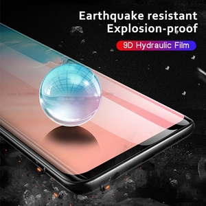 Image 2 - Pieno Morbido Idrogel Pellicola Per Samsung Galaxy S10 Più S10e S 10 9D Protezione Dello Schermo Per Samsung S8 S9 Nota 8 9 A10 A20 A30 A50 UN
