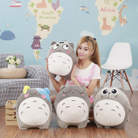 40CM Japan Anime Totoro Plush Toys Stuffed Cartoon Figure Pillow Soft Cute Cushion Kids Love Doll