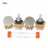 Zebra Sound Tone Volume Knob A500K L500K For CTS Electric Guitar Bass Potentiometer