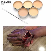 IMAGIC Halloween Special Effects Makeup Fake Scars Skin Wax Blocking Special Party Makeup Wax Spatula Tool