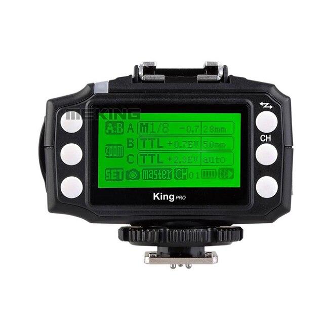 Pixel King Pro E-TTL Mark II Wireless Flash Trigger Receiver high Sync speeds 1/8000s for Canon 450D 500D 550D 600D 40D 50D 60D surelam pro 500d