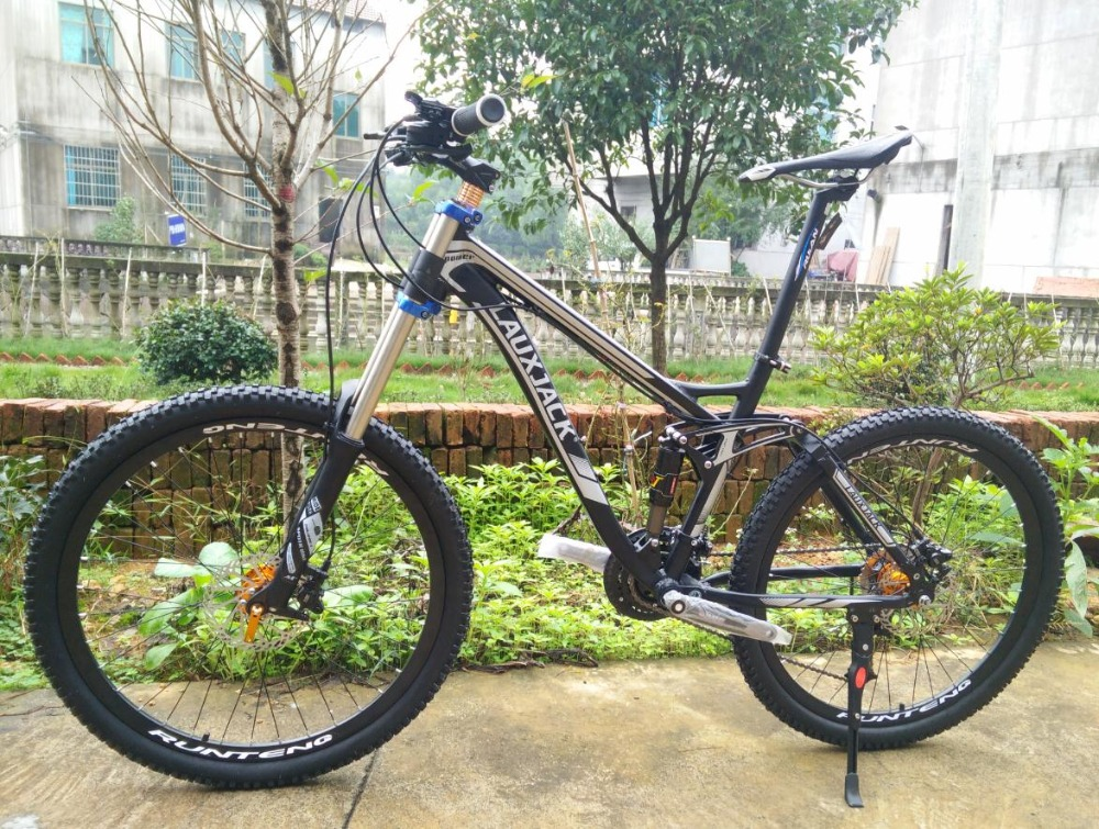 Kalosse Soft-tail Bicicleta mountain bike 26, Tyre dirt bike,24/27 speed,2017 new cycling bicicleta mountain bicycle