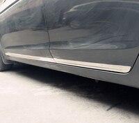 4pcs for honda Accord 2008 2012 body trim door decorate bar