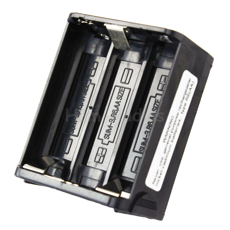 Neue R6 (AAX6) Schwarz BT-8 6XAA Batterie Fall für Kenwood Radio TH-28 TH-48 TH-78HT Heißer