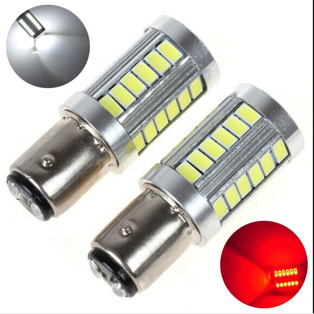 Online get cheap car rot aliexpress alibaba group 2stk 12 v 33smd led lampe licht 1157 bay15d 5730 rcklicht bremslicht weib rot parisarafo Image collections
