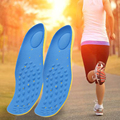 1 Pair Orthotic Arch Support Sport Shoe Massaging Memory Cotton Insole Run Pad Cushion For Man Women