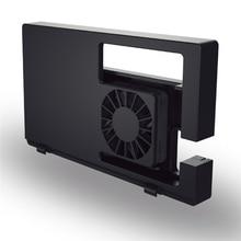 مروحة تبريد خارجية لنينتندو سويتش وحدة تحكم الألعاب قفص الاتهام محطة الإرساء تصميم المفاجئة USB بالطاقة كابل متكامل CoolingFan
