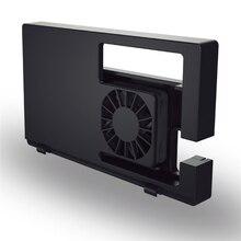 Harici soğutma fanı oyun konsolu Dock yerleştirme istasyonu Snap on tasarım USB Powered entegre kablo soğutma fanı