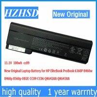 11 1V 100wh New Original CC09 Laptop Battery For HP EliteBook ProBook 6360P 8460w 8460p 8560p