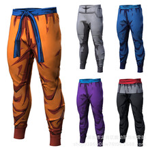 7b206a65d79c COSPLAY Dragon Ball Pants Compression Trousers Fitness Quick Dry Pant Tight  3D Dragon Ball Z Anime Men Vegeta Goku Pant costumes