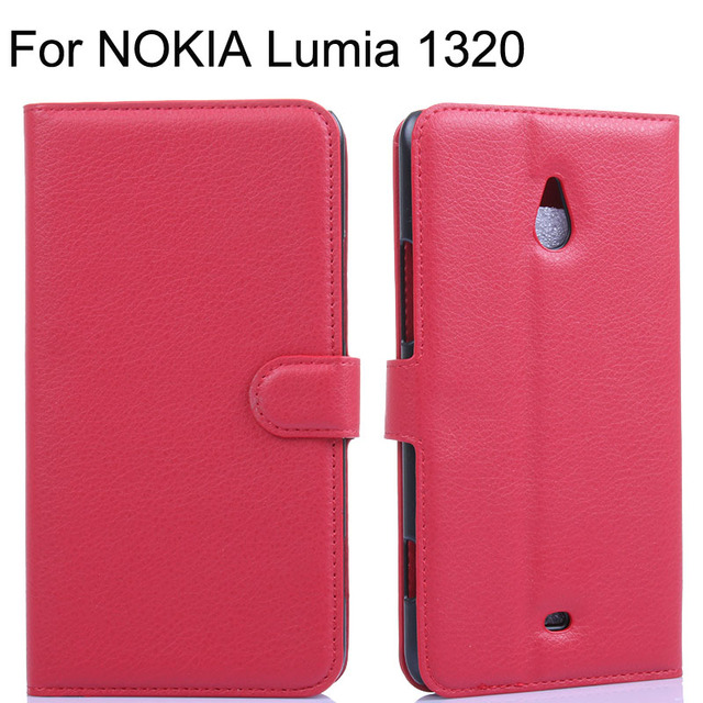 outlet store 37524 b0453 US $4.99 |New PU Leather Cover Case for Nokia Lumia 1320 Cover Wallet Flip  Phone Cover for Nokia Lumia 1320 Case with Stand Card Slot-in Flip Cases ...