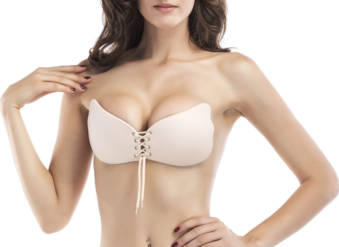 55fadf4ab293f LASPERAL Invisible Silicone Push Up Self Adhesive Strapless Bra Stickers  Pasties Women Sexy Lingerie Beast Petals Accessorries