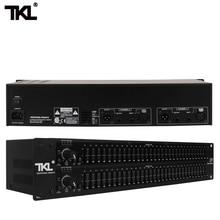 купить TKL 231 sound system audio equipment DJ stage best quality Dual Channel 31 Band Graphic Audio Equalizer Sound System по цене 7246.5 рублей