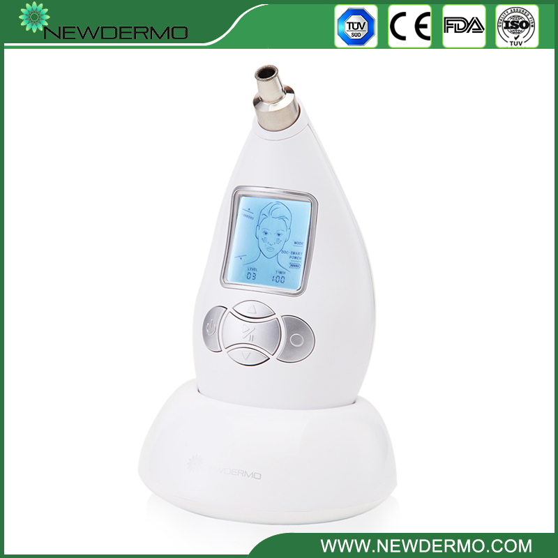 White 2017 Dermabrasion Beauty Machine With 2 Microdermabrasion Tips For Skin Care Face Spa FREE SHIPPING white 2016 new christmas sale dermabrasion beauty machine with 2 microdermabrasion tips for skin care face spa free shipping