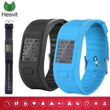 Hesvit S3 умный браслет сердечного ритма фитнес-трекер браслет Сна Монитора Данных Напоминание pedometor Спортивные браслеты для IOS Android