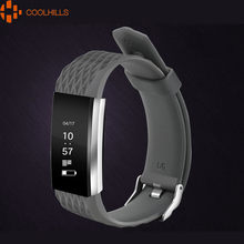 Smart Bracelet Wristband Fitness Tracker Oxygen Monitoring Heartrate Blood Pressure Test Remote Control Call SMS Reminding Band