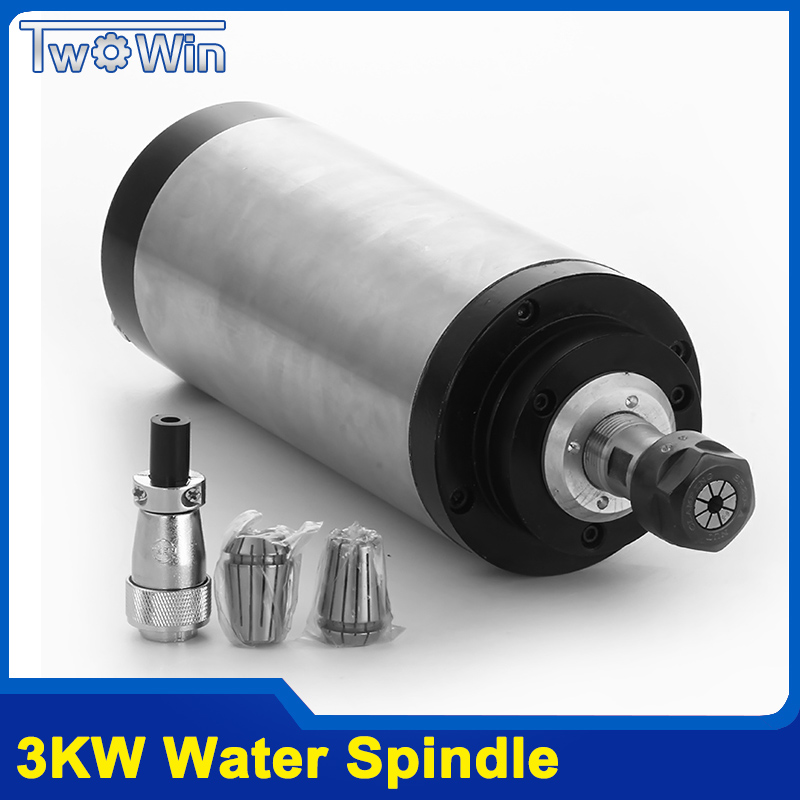 1.5kw Water Cooling Spindle CNC Milling Spindle Motor 24000rpm Machine Spindle Motor Engraving Milling Spindle with 4pcs Bearin 220v 1 5kw spindle motor water cooling motor cnc spindle motor machine tool spindle