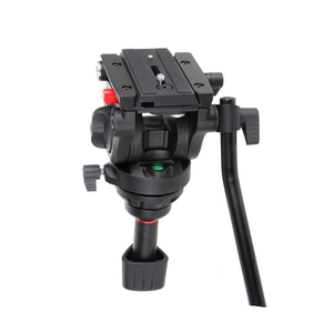 Image 4 - Viltrox VX 18M 1.8M professionnel Portable robuste Stable en aluminium antidérapant vidéo + trépied tête hydraulique pour caméra vidéo DV
