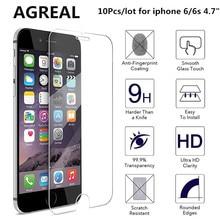 """** 10入 4.7""""2.5D0.3mm 高鋼化玻璃螢幕保護貼(iPhone 6S /6)"""