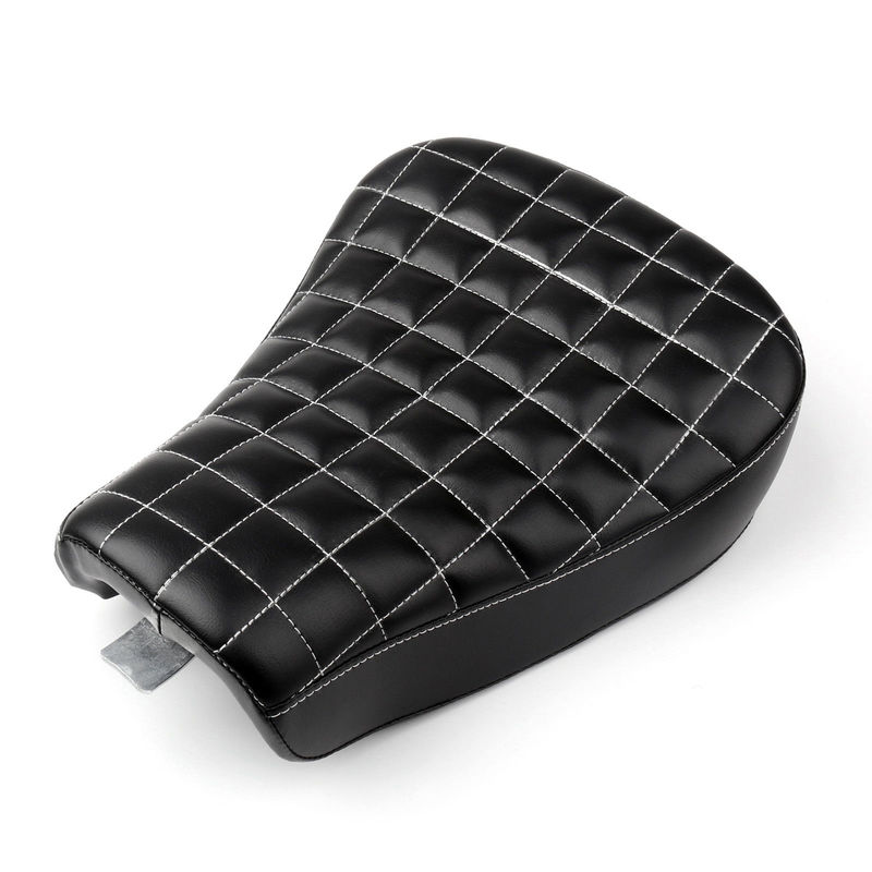 Square Moto Front Driver Solo Seat Cushion For  Sportster XL 1200 883 48