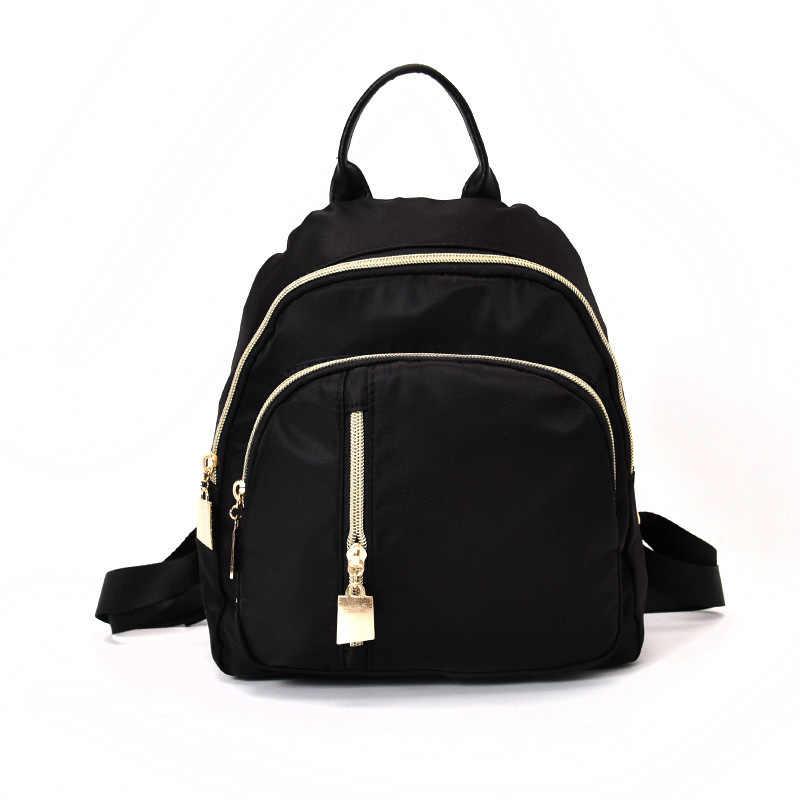 Большая звезда Dili Reba такая же сумка новая женская сумка корейский водонепроницаемый нейлоновый рюкзак мода Колледж Ветер плечи