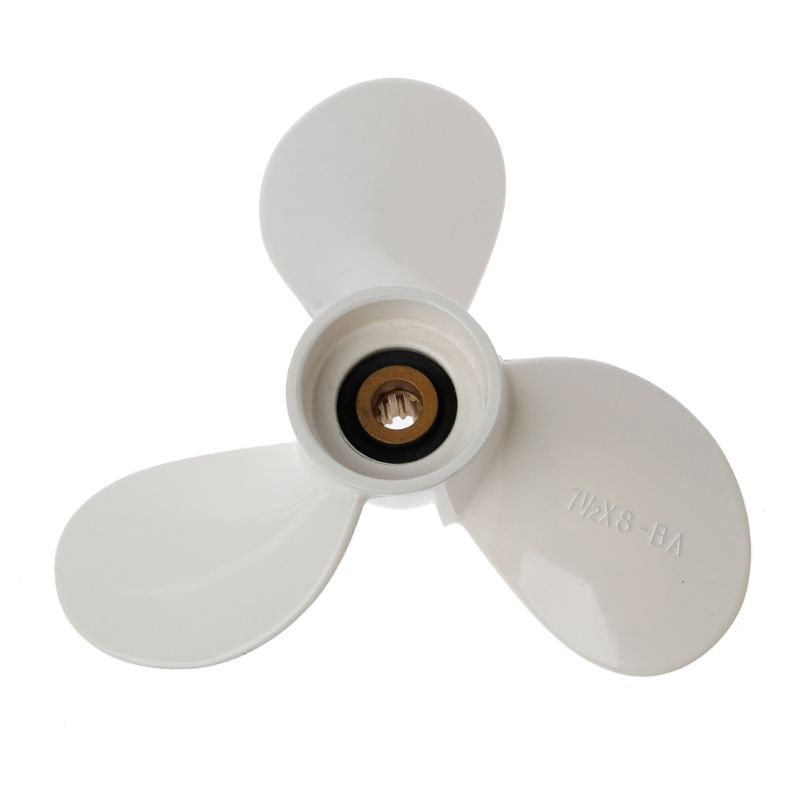 7 1/2x8 BA Marine Boat Engine Prop Propeller Blade Parts For Yamaha Outboard 4hp 5hp Engine