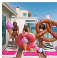 Giant Ice Cream Pool Toy 90cm Swimming Ring Party Room Decoration Inflatable Mattress Float Mat Air Buoy Circle Beach Water Game