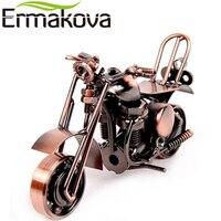ERMAKOVA Métal Moto Modèle Moteur Figurine De Fer Modèle de Moto Cadeau D'anniversaire Garçon Jouet En Métal Artisanat de Bureau À Domicile Décor