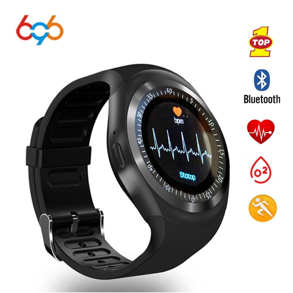 696 Sport smart watch Y1-X Heart Rate monitor Passometer relogio smart watch men Fitness Tracker smart bracelet support Iphone умные часы smart watch y1