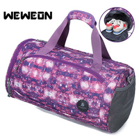 Large Capacity Sports Shoulder Gym Bag Combo Dry Wet Gym Bag With Shoes Compartment Stylish Waterproof