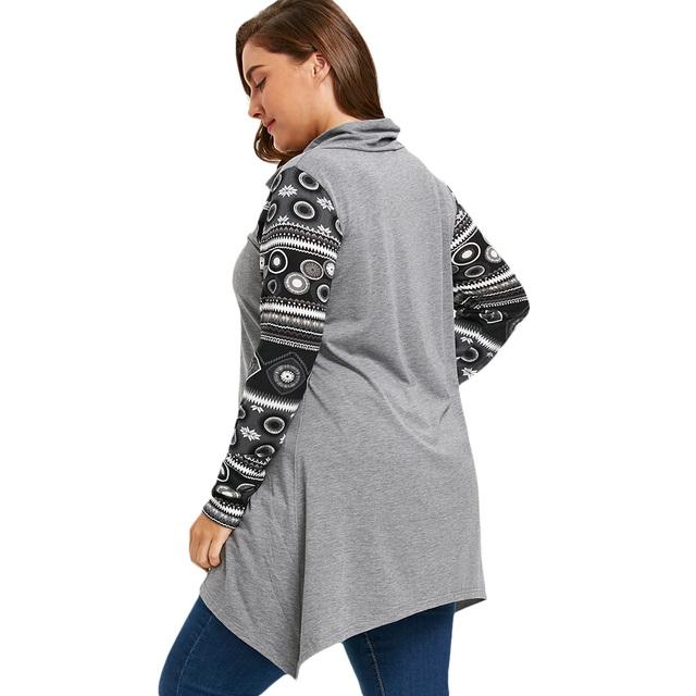 Long Sleeve T-shirt Women Plus Size Tops