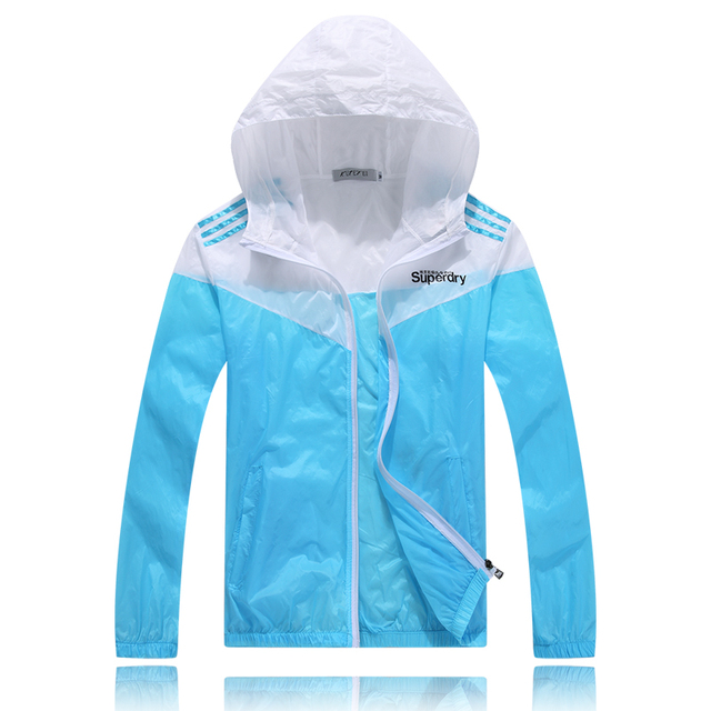 Colorful Sweethearts Outdoors Travel UV Coat Spring and Summer Thin Sun Protective Clothing Unisex Women Men 5 Colors