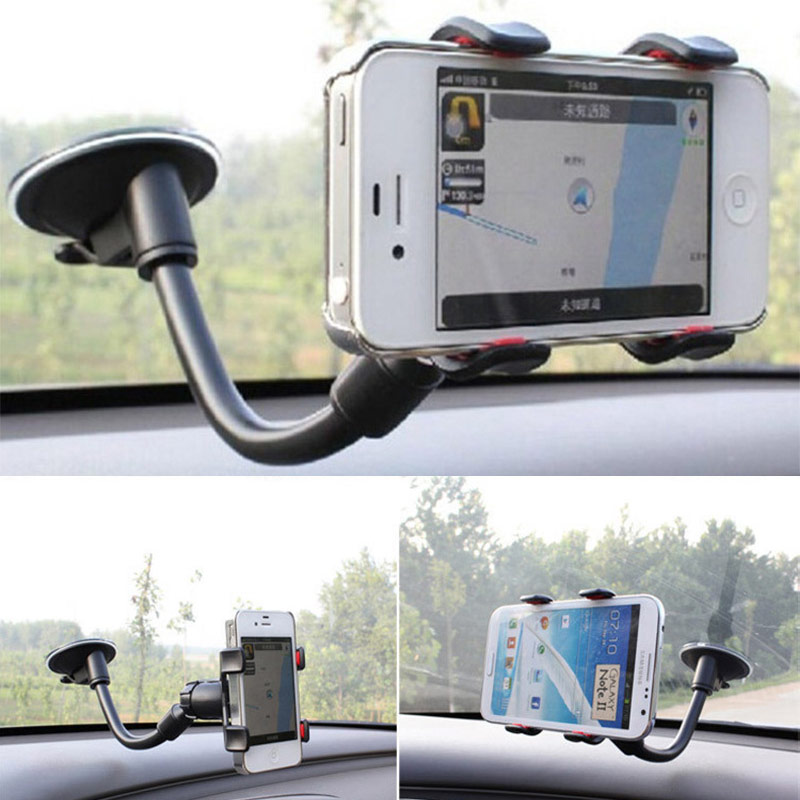 Car Phone Holder Case For iPhone 6 6S Plus 5S 4 Samsung Galaxy S7 S6 Edge Grand Prime G530 J5 Xiaomi Redmi 3S Note 4 3 Pro 2 Mi5